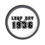 LEAP DAY 1936 Wall Clock