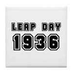 LEAP DAY 1936 Tile Coaster