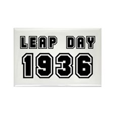 LEAP DAY 1936 Rectangle Magnet