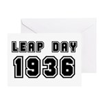 LEAP DAY 1936 Greeting Card