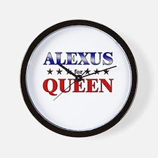 ALEXUS for queen Wall Clock