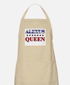 ALEXUS for queen BBQ Apron