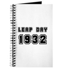 LEAP DAY 1932 Journal