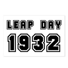 LEAP DAY 1932 Postcards (Package of 8)