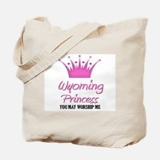 Wyoming Princess Tote Bag