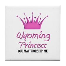 Wyoming Princess Tile Coaster