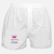 Wyoming Princess Boxer Shorts