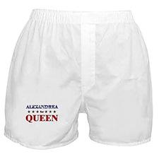 ALEXANDREA for queen Boxer Shorts