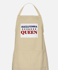ALEXANDREA for queen BBQ Apron
