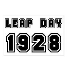 LEAP DAY 1928 Postcards (Package of 8)