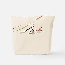 Love Curling Tote Bag