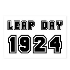 LEAP DAY 1924 Postcards (Package of 8)
