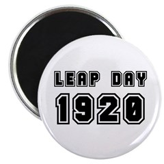 LEAP DAY 1920 Magnet