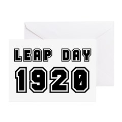 LEAP DAY 1920 Greeting Cards (Pk of 10)