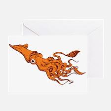 CALAMARI Greeting Card