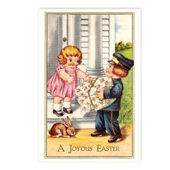 Antique Easter Postcards (Package of 8)