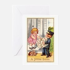 Antique Easter Greeting Cards (Pk of 10)