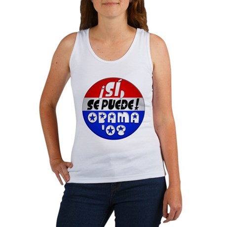 Si Se Puede, OBAMA '08 Women's Tank Top