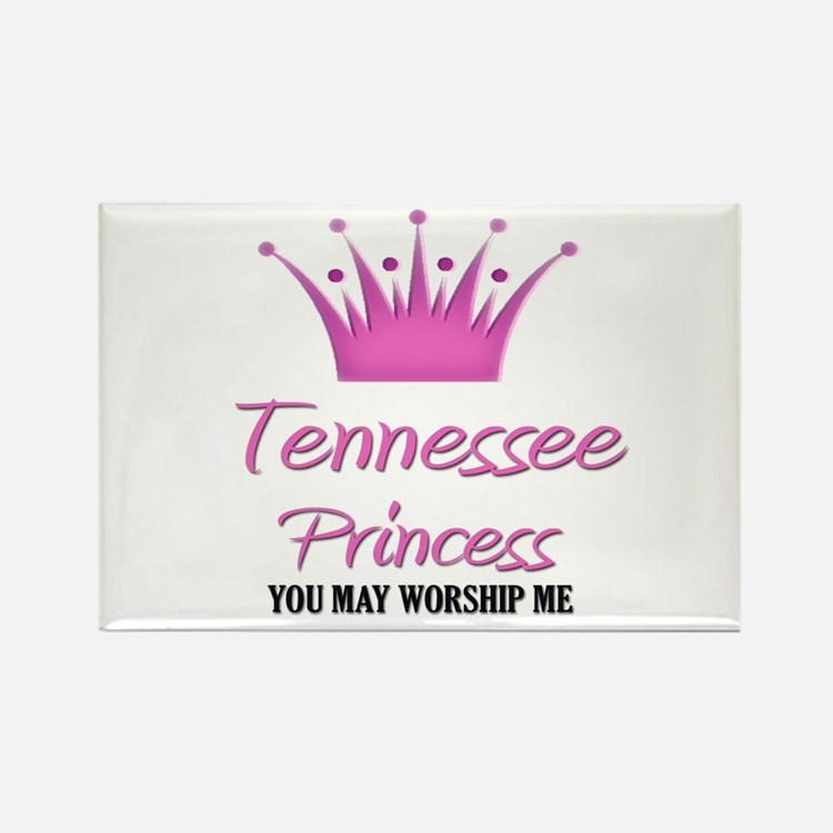 Tennessee Princess Rectangle Magnet