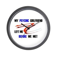 PSYCHIC GIRLFRIEND Wall Clock