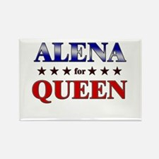 ALENA for queen Rectangle Magnet