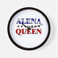 ALENA for queen Wall Clock