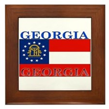 Georgia Georgian State Flag Framed Tile