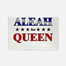 ALEAH for queen Rectangle Magnet