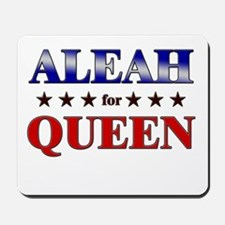 ALEAH for queen Mousepad