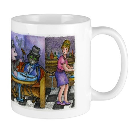 Anansi and Boto Mug
