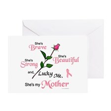 Lucky Me 2 (Mother BC) Greeting Card