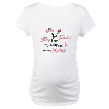 Lucky Me 2 (Mother BC) Maternity T-Shirt