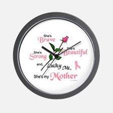 Lucky Me 2 (Mother BC) Wall Clock