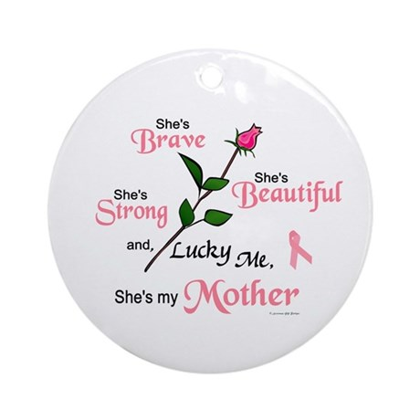 Lucky Me 2 (Mother BC) Ornament (Round)