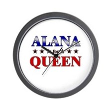 ALANA for queen Wall Clock