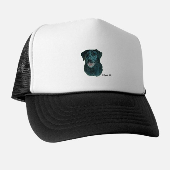 Dakota the Black Lab Trucker Hat
