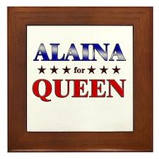 ALAINA for queen Framed Tile