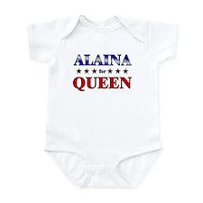 ALAINA for queen Infant Bodysuit