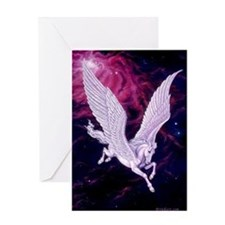 Space Pegasus ~ Greeting Card ~ BLANK