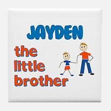 Jayden - The Little Brother  Tile Coaster