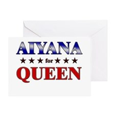 AIYANA for queen Greeting Card