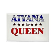 AIYANA for queen Rectangle Magnet