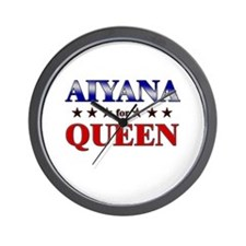 AIYANA for queen Wall Clock