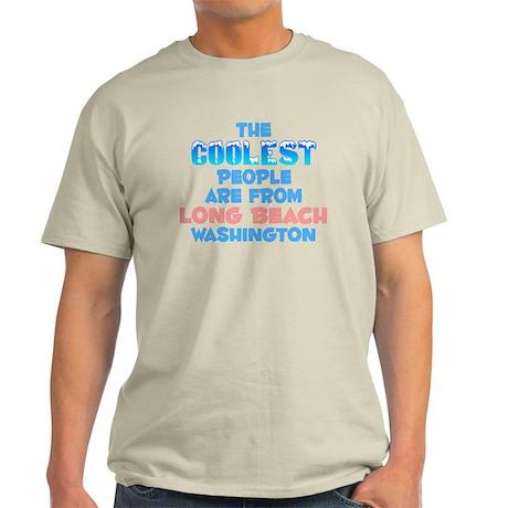 Coolest: Long Beach, WA Light T-Shirt