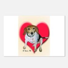Daisy the Beagle Postcards (Package of 8)