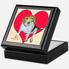 Daisy the Beagle Keepsake Box