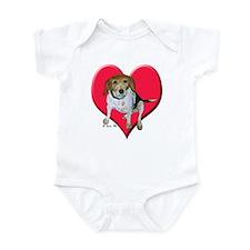 Daisy the Beagle Infant Creeper