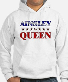 AINSLEY for queen Hoodie