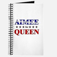AIMEE for queen Journal