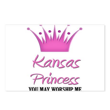Kansas Princess Postcards (Package of 8)